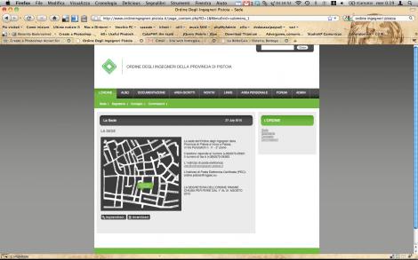 Ordine degli Ingegneri della Provincia di Pistoia - Home page