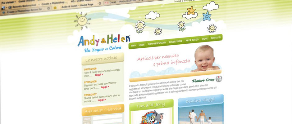 Andy & helen - un sogno a colori