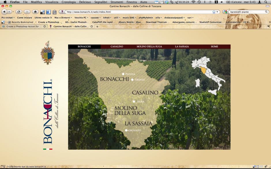 Cantine Bonacchi - Home Page