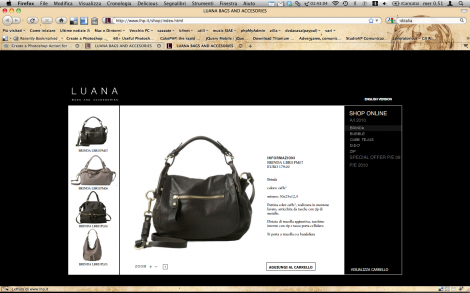 Luana Bags and Accessories - e-commerce