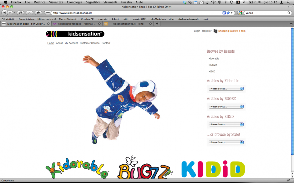 kidsensationshop - Home Page