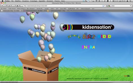 kidsensationshop - Intro Flash