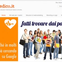 e-medico.it - Splash page