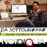 Da sottolineare: Daniele Martini, il professore dei computer